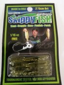Skippyfish Watermelon Flash 5cm 8pack