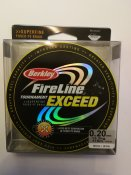Fireline Exceed Crystal/Cristal 0,20mm 13,2kg 110m