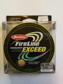 Fireline Exceed Crystal/Cristal 0,10mm 5,9kg 110m