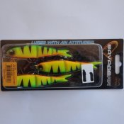 Soft 4Play Ready to Fish Firetiger 9,5 cm 3 st