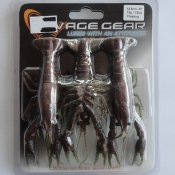 3D Crayfish Magic Brown 12,5 cm 3 st