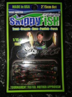 Skippyfish Watermelon Red 5cm 8pack