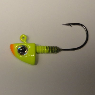 Fin-S Head 21 gr Krok 4/0 Chartreuse - Orange